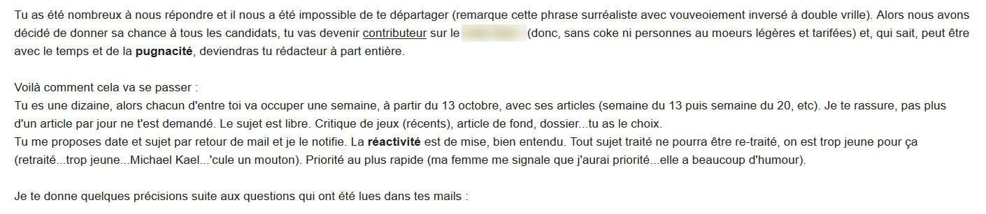 email des enfers
