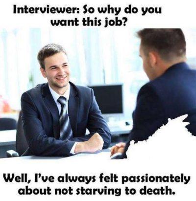 Mauvaise question entretien
