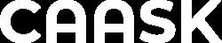 caask logo blanc